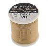 Miyuki Nylon Beading Thread B Brown Biscotti (50m)